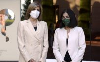 Stella Kyriakides, comisaria europea de Salud, y Carolina Darias, ministra de Sanidad (Foto: @ComisionEuropea)