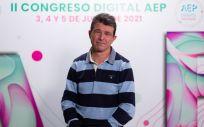 Luis Carlos Blesa Baviera, presidente de la Asociación Española de Pediatría (AEP). (Foto. AEP)
