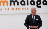 El doctor Pedro Navarro Merino, nuevo presidente del Colegio Oficial de Médicos de Málaga (Foto: Colegio de Médicos de Málaga)