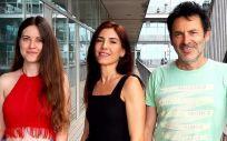 Investigadores de la Universitat Pompeu Fabra (UPF) Julia Carrillo, Selma A. Serra y Miguel A. Valverde (Foto: UPF)