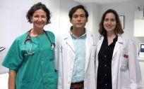 Investigadores de Incliva. De izq a drcha: Patricia Palau, Julio Núñez y Clara Sastre (Foto: Incliva)