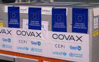 Dosis de las vacunas contra la COVID 19 enviadas por COVAX a Moldavia