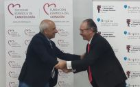 El presidente de la SEC, el Dr. Ángel Cequier y el presidente de la Separ, el Dr. Carlos A. Jiménez. (Foto: Separ / SEC)