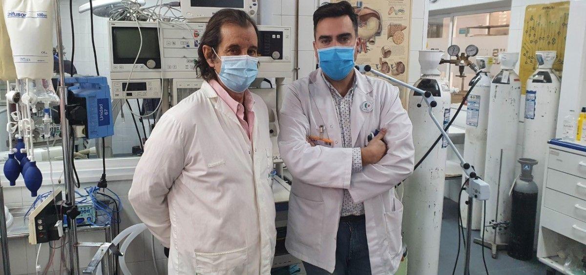 El Dr. Castilla y Carnero en las instalaciones del Departamento de Medicina y Cirugía Experimental del IIS FJD. (Foto FJD Grupo Quirónsalud)