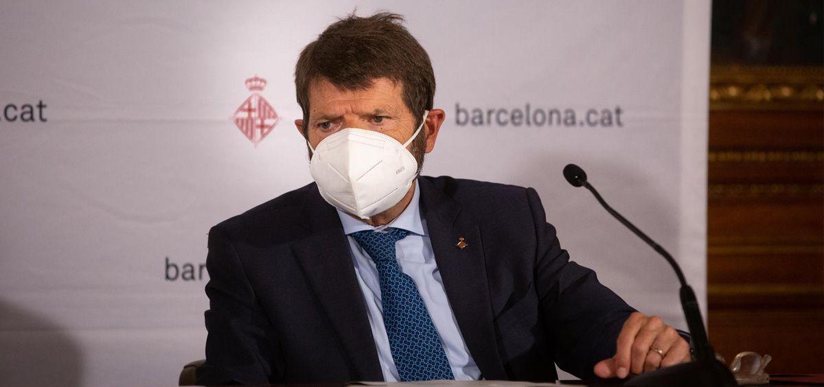 El teniente de alcalde de seguridad del Ayuntamiento de Barcelona, Albert Batlle, en una imagen de archivo (Foto. Europa Press, David Zorrakino)