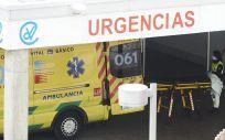 Ambulancia en Valdecilla, imagen de archivo (Foto. EP  Juan Manuel Serrano Arce)