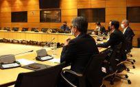 Reunión del Consejo de Políticas del Juego, presidido por el ministro de Consumo, Alberto Garzón (Foto: Ministerio de Consumo)