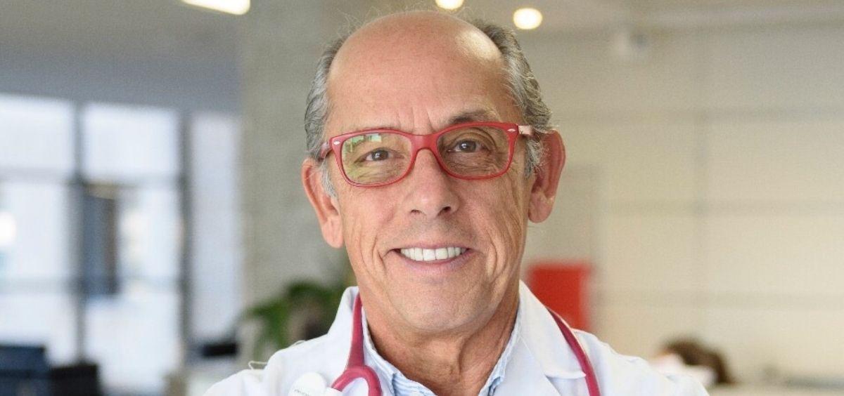 El presidente de la Sociedad Española de Pediatría Extrahospitalaria (Sepeap), Fernando García-Sala Viguer. (Foto. Sepeap)