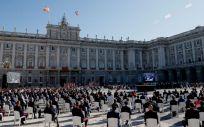 Homenaje de Estado a las víctimas del Covid-19 y reconocimiento a los profesionales sanitarios (Foto: La Moncloa)