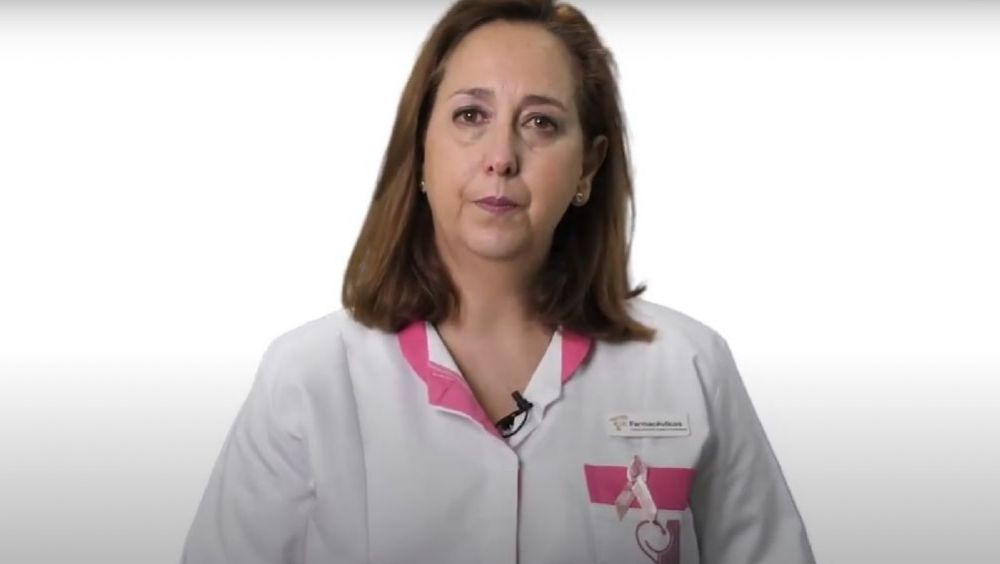 La farmacéutica Sara Yanguas, vocal de Ortopedia del Colegio Oficial de Farmacéuticos de Granada