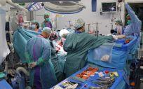 El Hospital Vall d´Hebron ha realizado el primer trasplante pulmonar en España a un paciente post-Covid (Foto: Vall d´Hebron)