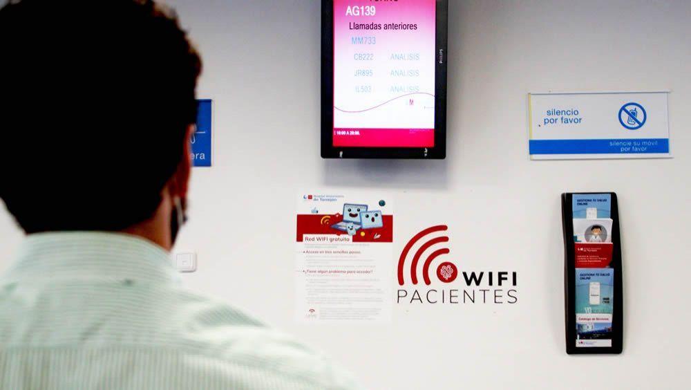 El Hospital de Torrejón ofrece wifi gratuito y abierto para pacientes