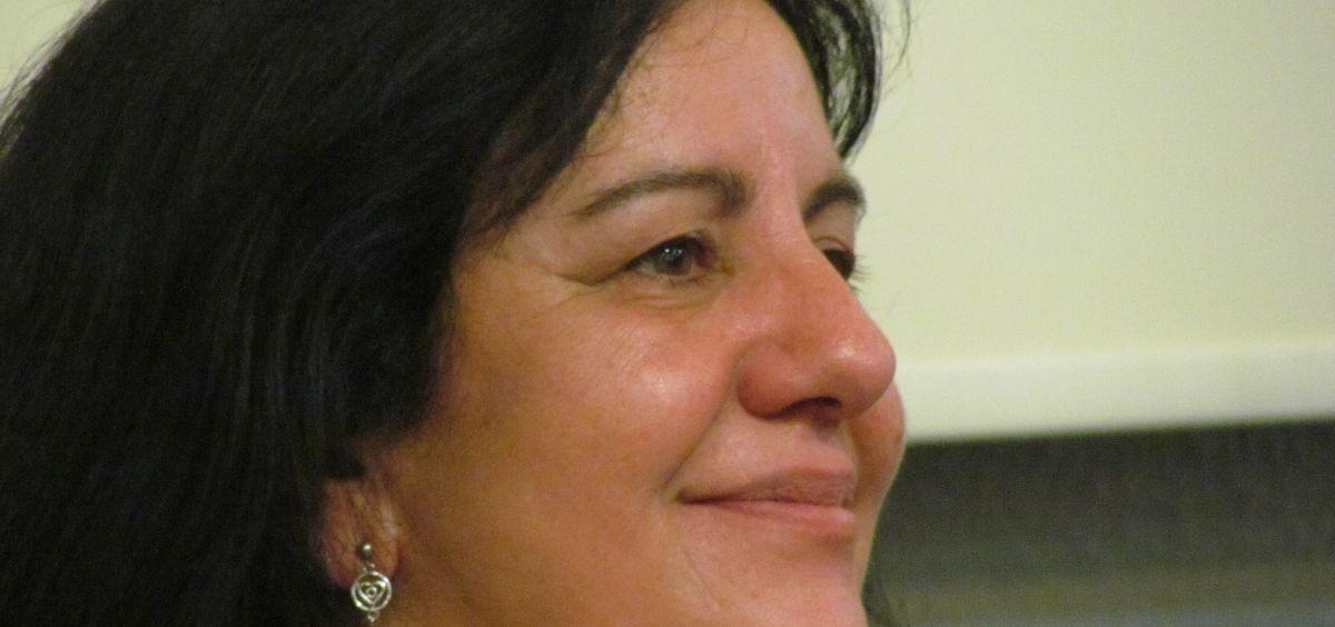 Natividad López Langa, presidenta de la Asociación Nacional e Internacional de Enfermería Escolar.