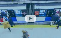 Pierde el ojo el sanitario agredido en el Metro de Madrid por pedirle a un pasajero que se pusiera la mascarilla. (Foto. Metro de Madrid / ConSalud.es)