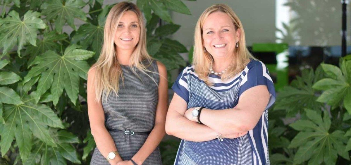 Pilar Sánchez y Laura Fernández. (Foto. Grupo CTO)