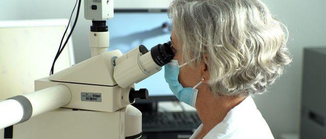 La doctora Laia Bernet, coordinadora de Patología del grupo Ribera (Foto. Ribera)