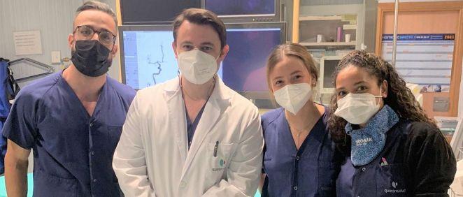 El Hospital de la Luz crea una Unidad de Neurointervencionismo con los doctores Mario Martínez Galdámez y Gonzalo Monedero (Foto. Quirónsalud)