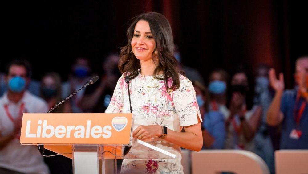 Inés Arrimadas, presidenta de Ciudadanos (Foto: Cs)