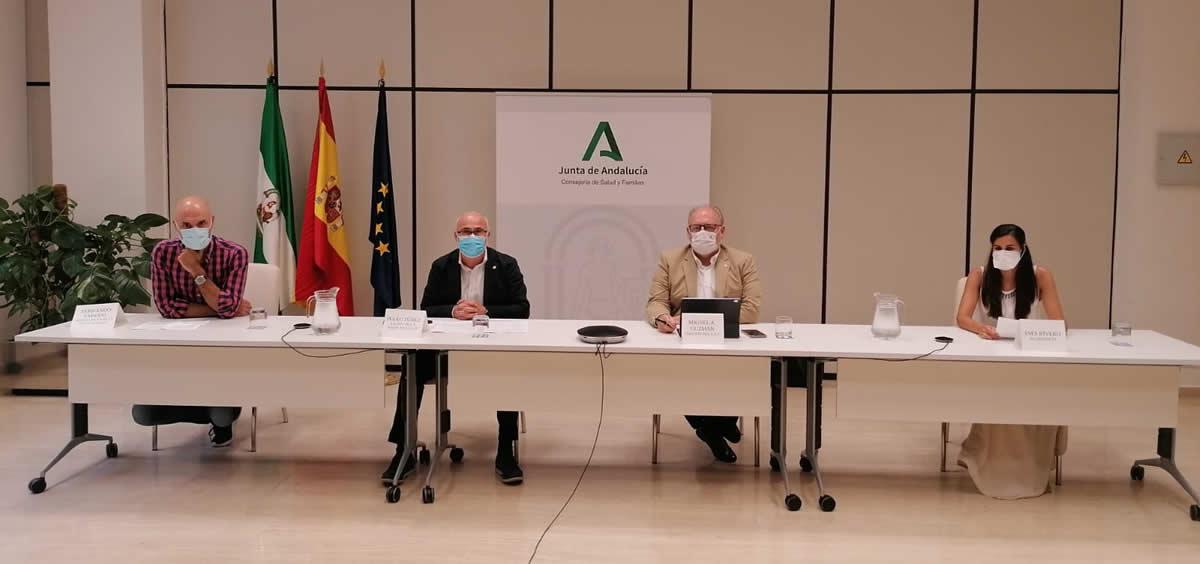 Acto de presentación de los nuevos residentes de la sanidad pública andaluza (Foto: Junta de Andalucía)