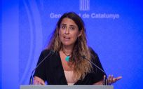La portavoz del Govern de la Generalitat, Patrícia Plaja (Foto: David Zorrakino - Europa Press)