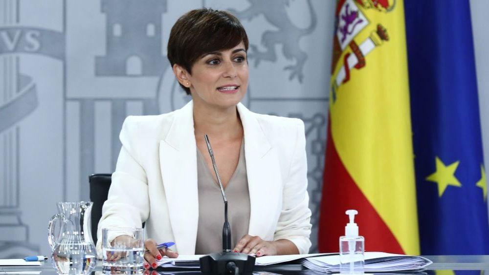 Isabel Rodríguez, portavoz del Gobierno (Foto: Pool Moncloa / Fernando Calvo)