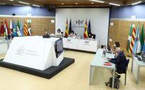 Reunión del Consejo Interterritorial del SNS (Foto: Pool Moncloa / Fernando Calvo)