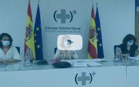 Carolina Darias, ministra de Sanidad preside el Consejo Interterritorial.