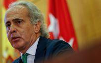 El consejero de Sanidad de la Comunidad de Madrid, Enrique Ruiz Escudero. (Foto. CAM)
