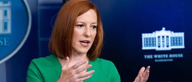 La portavoz de la Casa Blanca, Jen Psaki. (Foto. Michael Brochstein. ZUMA Wire. dpa)