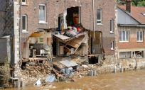 Casa afectada por las inundaciones en Bélgica (Foto. ECDC)
