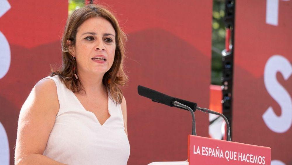 Adriana Lastra, vicesecretaria general del PSOE (Foto: PSOE)
