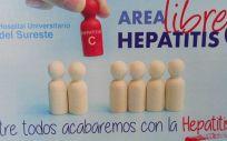 Cribado de hepatitis C en el Hospital Universitario del Sureste. (Foto. Hospital Universitario del Sureste)