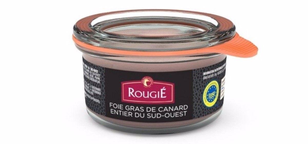 Aesan alerta sobre la presencia de fragmentos de cristal en un lote de Foie de la marca Rougie. (Foto. Rougie. Europa Press)