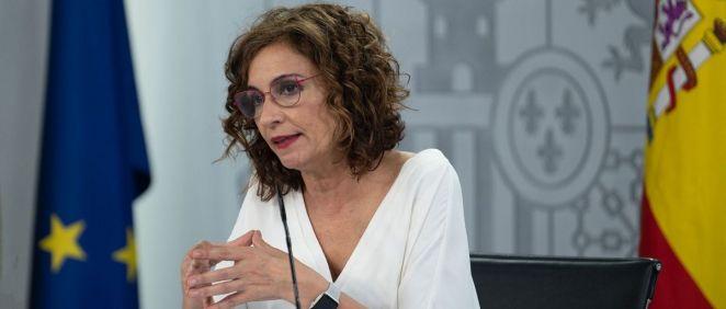 María Jesús Montero, ministra de Hacienda y Función Pública (Foto: Pool Moncloa / Borja Puig de la Bellacasa)