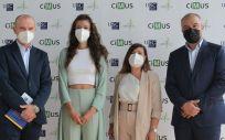 Investigadores del CiMUS de la USC responsables del hallazgo de biomarcadores de cardiotoxicidad en cáncer de mama (Foto: CiMUS)