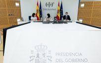 Consejo Interterritorial del SNS. (Foto. Pool Moncloa. Borja Puig de la Bellacasa)