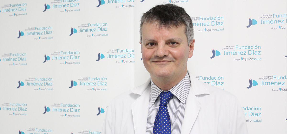 El especialista del Servicio de Psiquiatría de la Fundación Jiménez Díaz e investigador del trabajo, Miguel Ángel Sánchez-González (Foto: FJD)