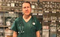 Dr. Gerardo Pérez Chica, neumólogo y presidente del Colegio de Médicos de Jaén. (Foto. Colmed Jaén)