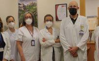 Miembros de la Unidad de Enfermedad Inflamatoria Intestinal del Hospital Clínico San Carlos. (Foto. Hospital Clínico San Carlos)