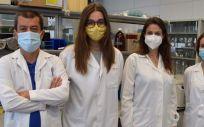 El equipo del CIPF participante en la investigación sobre los cambios celulares en la esquizofrenia (Foto. Gobierno de Valencia)