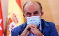 Antonio Zapatero, viceconsejero de Asistencia Sanitaria y Salud Pública de la Comunidad de Madrid (Foto: CAM)