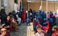 Clínica temporal administrada por Médicos Sin Fronteras en Kunduz, Afganistán, ciudad que ahora está en manos de los talibán. (Foto. Prue Coakley MSF)