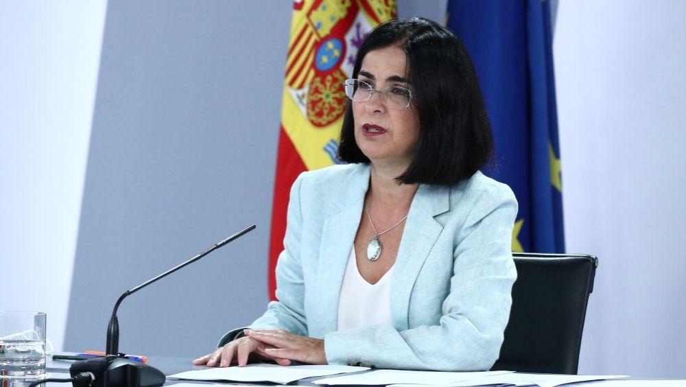 Carolina Darias, ministra de Sanidad (Foto: Pool Moncloa / Fernando Calvo)