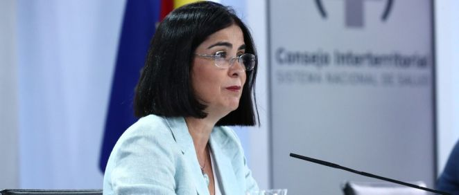 La ministra de Sanidad, Carolina Darias (Foto: Pool Moncloa / Fernando Calvo)