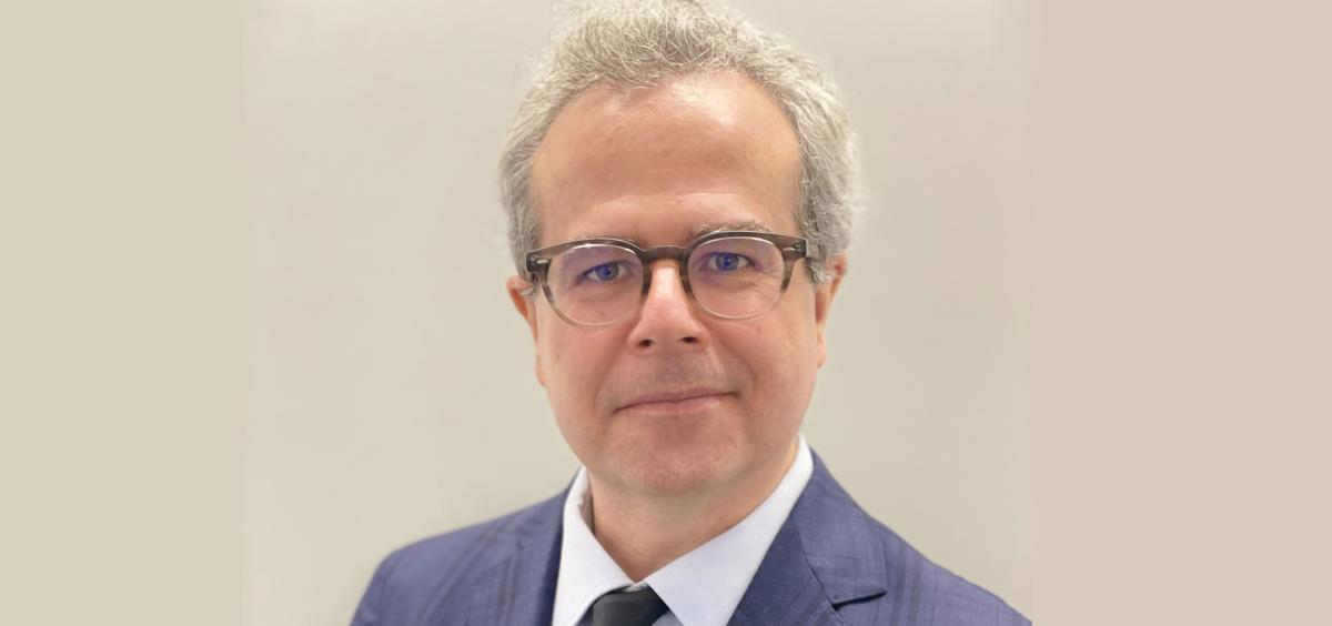 Dr. Víctor Mayoral, presidente de la Sociedad Española del Dolor (SED). (Foto. SED)
