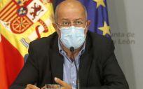 Francisco Igea, vicepresidente de CyL en rueda de prensa posterior al Consejo de Gobierno. (Foto. Junta de Castilla y León)
