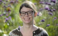 La investigadora del Departamento de Ciencias de la Radiación, Universidad de Umeå, Suecia, Sophia Harlid (Foto: Mattias Pettersson)