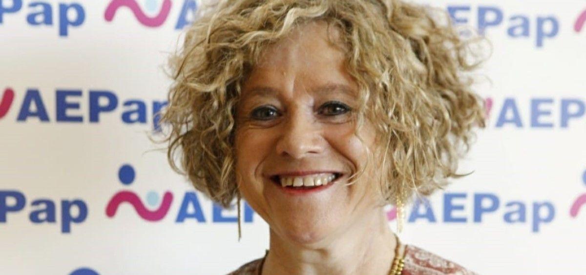 La presidenta de la Asociación Española de Pediatría de Atención Primaria, la Dra. Concepción Sánchez Pina. (Foto. AEPap)