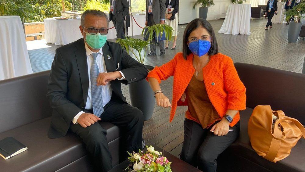 Tedros y Darias, en sintonía sobre vacunas en el G20