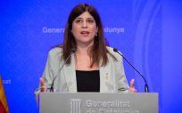 La consellera de Investigación y Universidades, Gemma Geis (Foto: David Zorrakino - Europa Press)